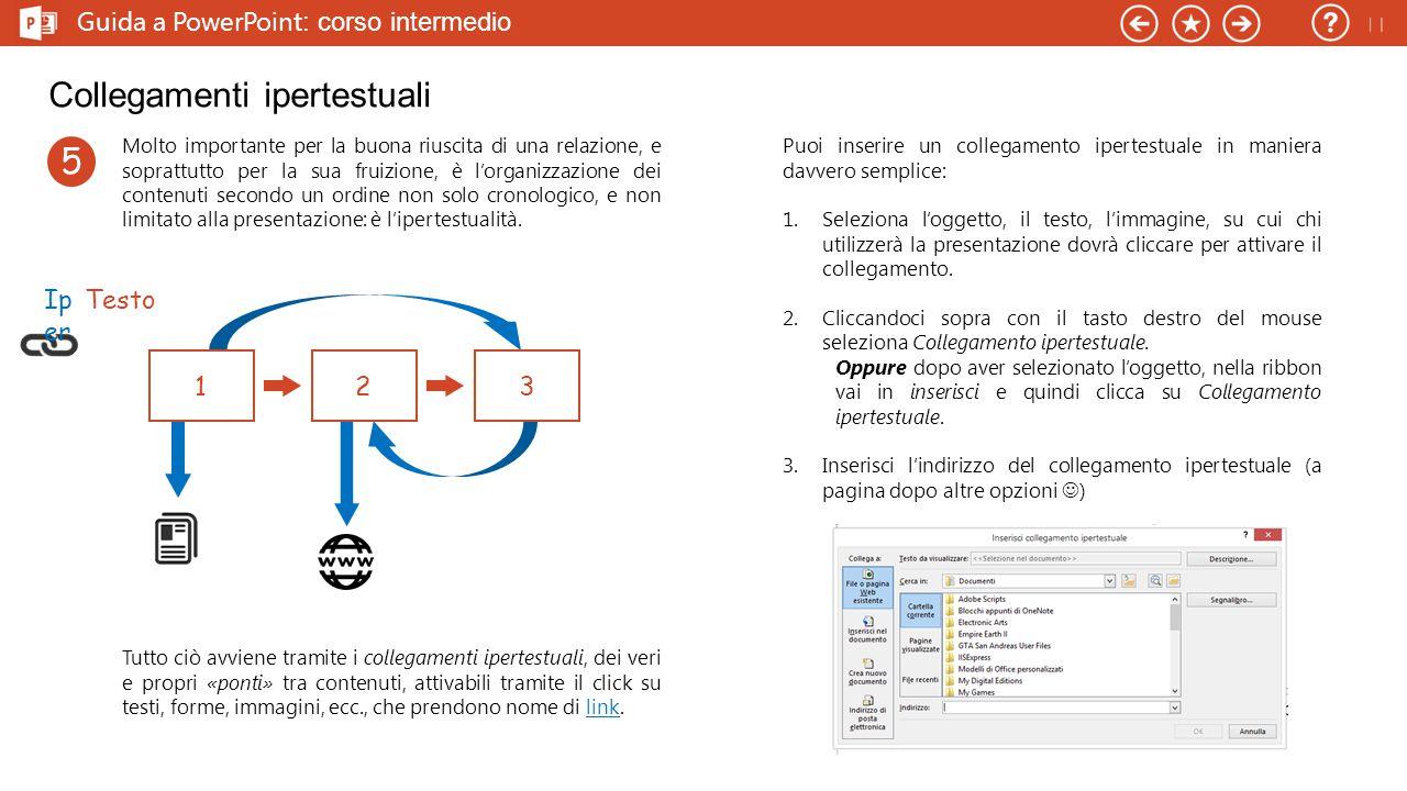 Guida a PowerPoint : corso intermedio I Font: strumenti di carattere PowerPoint permette di modificare facilmente i caratteri all'interno della presentazione.