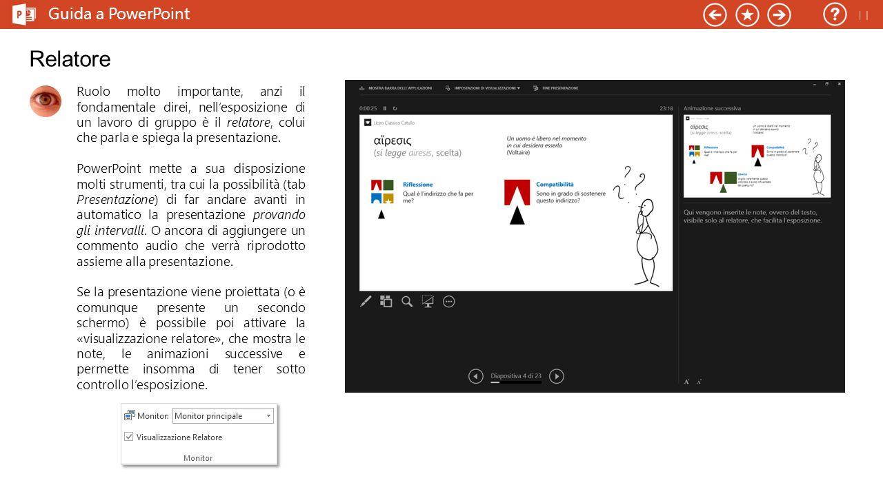 Guida a PowerPoint Risorse Ecco qualche risorsa per rendere il tuo PowerPoint più accattivante.