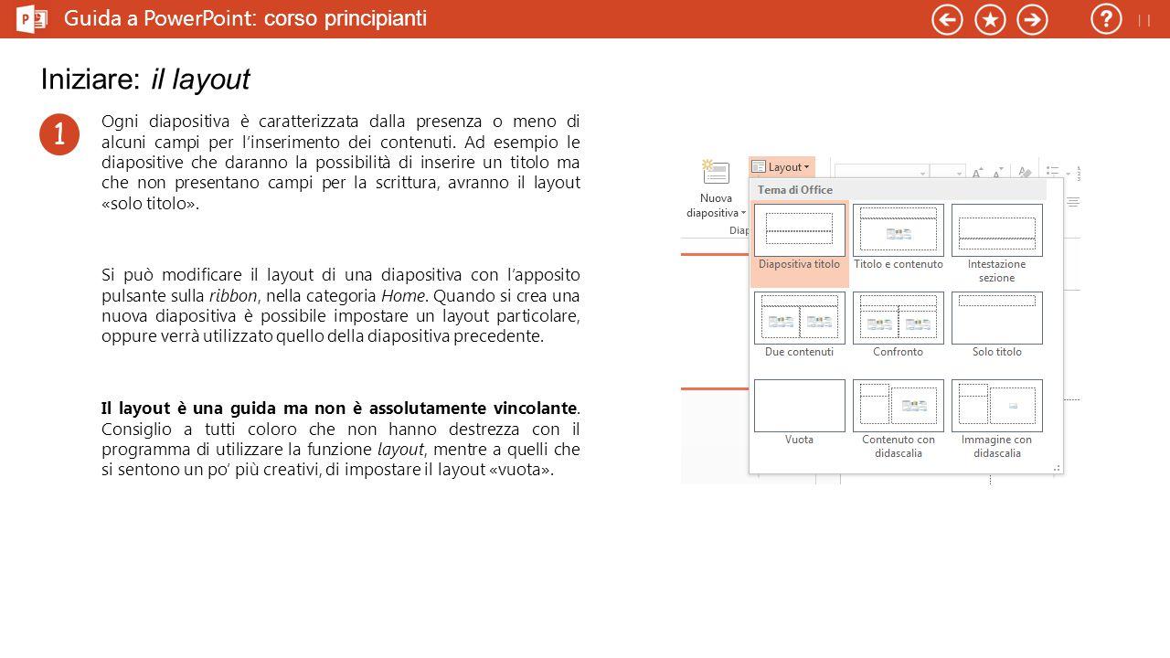 Guida a PowerPoint : corso principianti Iniziare: dimensioni delle diapositive Le diapositive non sono tutte uguali, ma hanno diverse dimensioni (per la precisione un diverso rapporto d'aspetto, o ratio).