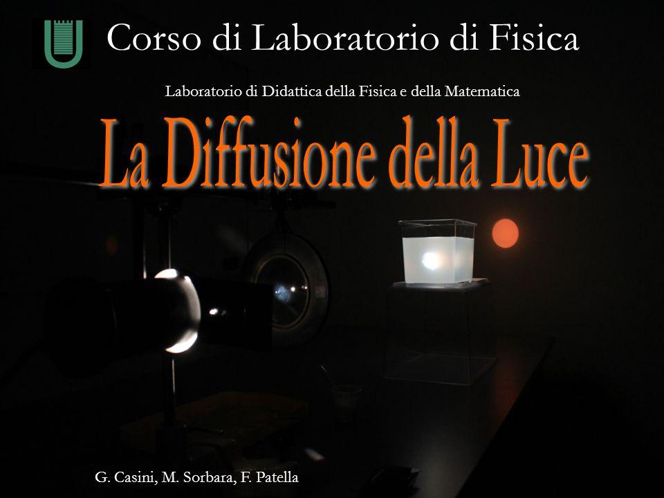 Università di Roma Tor Vergata - Laboratorio di Didattica della Fisica e della Matematica Corso di Laboratorio di Fisica Laboratorio di Didattica dell