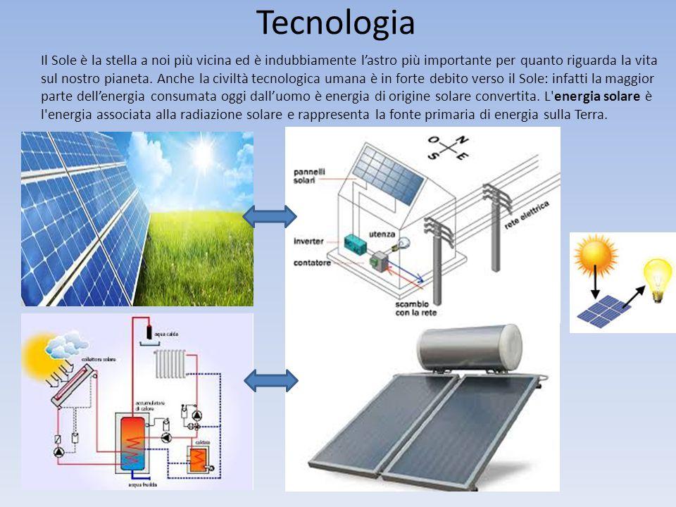 Tecnologia Il Sole è la stella a noi più vicina ed è indubbiamente l'astro più importante per quanto riguarda la vita sul nostro pianeta. Anche la civ