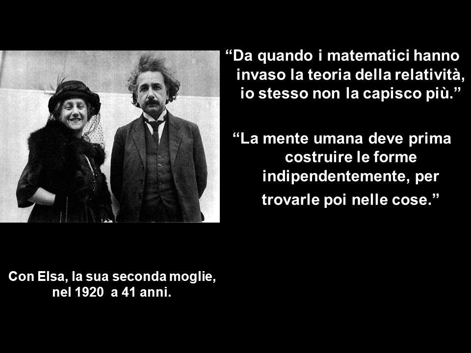 ANNO DEL MIRACOLO DI EINSTEIN Lavori Pubblicati nel 1905 a 26 anni: 1.L'effetto Fotoelettrico, l'Ipotesi quantica di Planck.