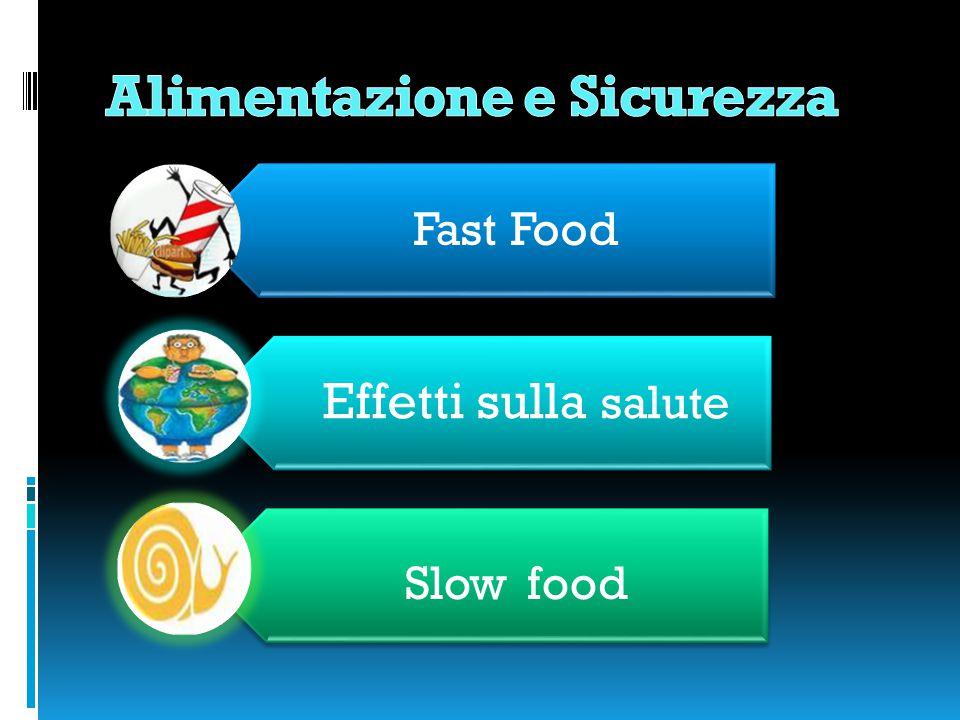 Fast Food Effetti sulla salute Slow food