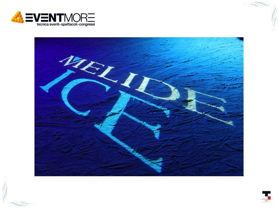 Winter party - soffitto: stoffe a drappi bianche con luci che le rendono l'atmosfera azzurro-ghiaccio - proiettori che dalle pareti proiettano immagini di paesaggi innevati e incantati con altri proiettori di luce a fiochi di neve - ghiaccioli ai lati del tendone - tende che scendono anche alle pareti bianche e dal basso, luci azzurre-ghiaccio - tavoli a forma di cubo di ghiaccio illuminato dall'interno (sempre effetto ghiaccio) - montanti d'acciaio per le luci, con luce all'interno che li fa sembrare ghiacciati e lucine attorno - il bar decorato a mò di casetta coi ghiaccioli e le lucine, oppure a igloo, altrimenti un bancone con cubi di ghiaccio illuminati, che servono in bicchieri a cubo - bariste-acrobate che dall'alto del trapezio servono del vino o champagne - ballerini dentro a una struttura di plastica gonfiabile che intrattengono e danzano tra i fiocchi di neve (come le ball di vetro).