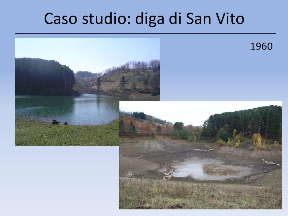 Caso studio: diga di San Vito 1960