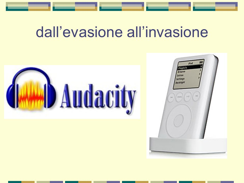 dall'evasione all'invasione