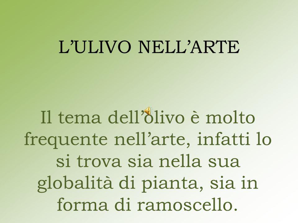 Nel novecento con Vincenzo Guerrazzi sono nati i primi dipinti nei quali si rappresenta la fatica e il duro lavoro che si doveva affrontare durante la raccolta delle olive.