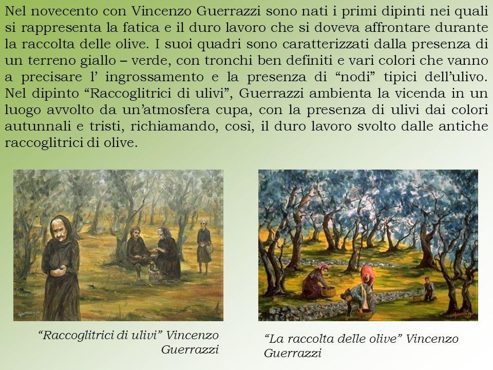Nel novecento con Vincenzo Guerrazzi sono nati i primi dipinti nei quali si rappresenta la fatica e il duro lavoro che si doveva affrontare durante la