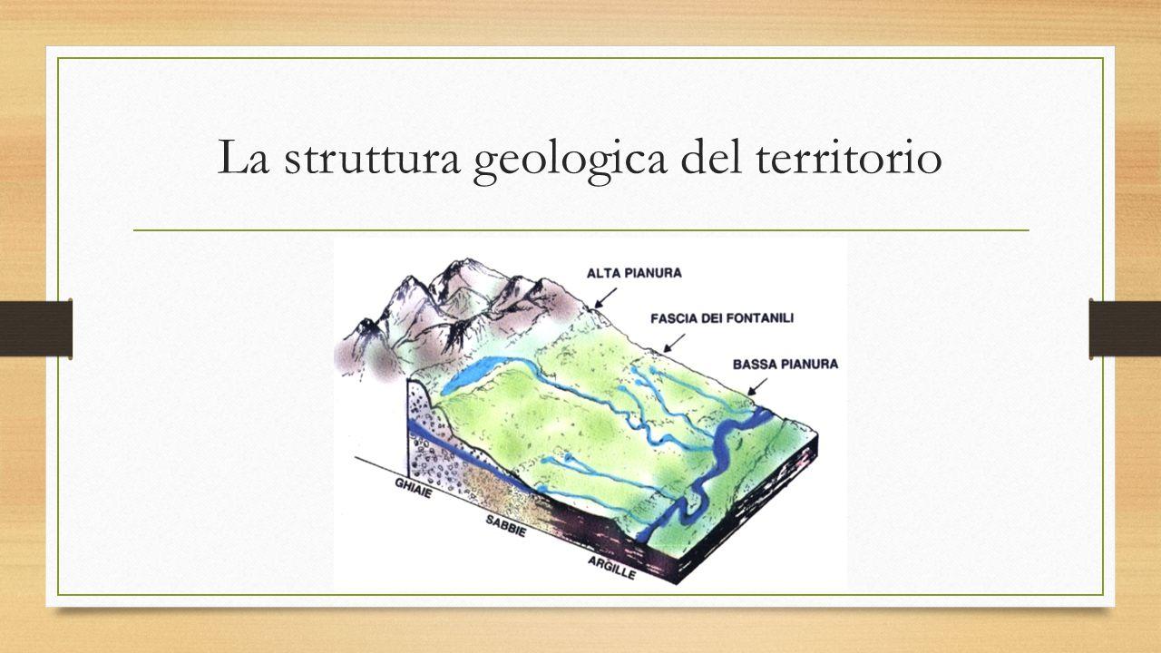 La struttura geologica del territorio