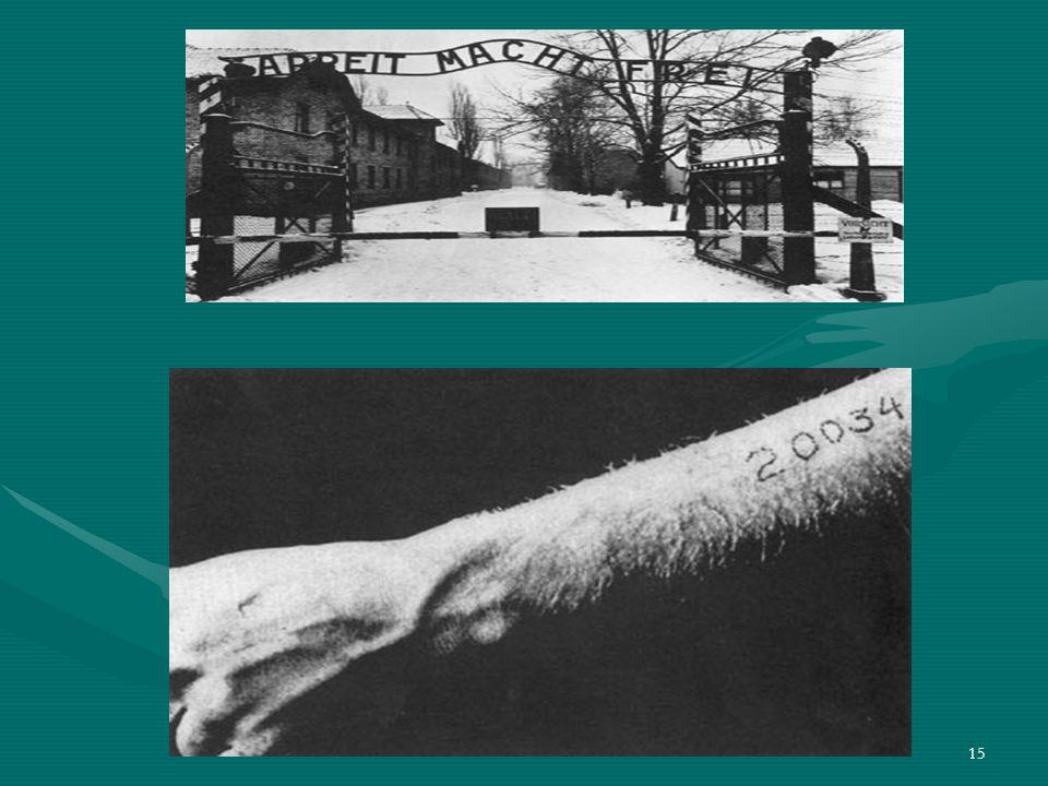 14 Per cinque anni il nome di Auschwitz destò sentimenti di terrore fra gli uomini dei Paesi invasi dai nazisti. Auschwitz fu il campo più grande, nel