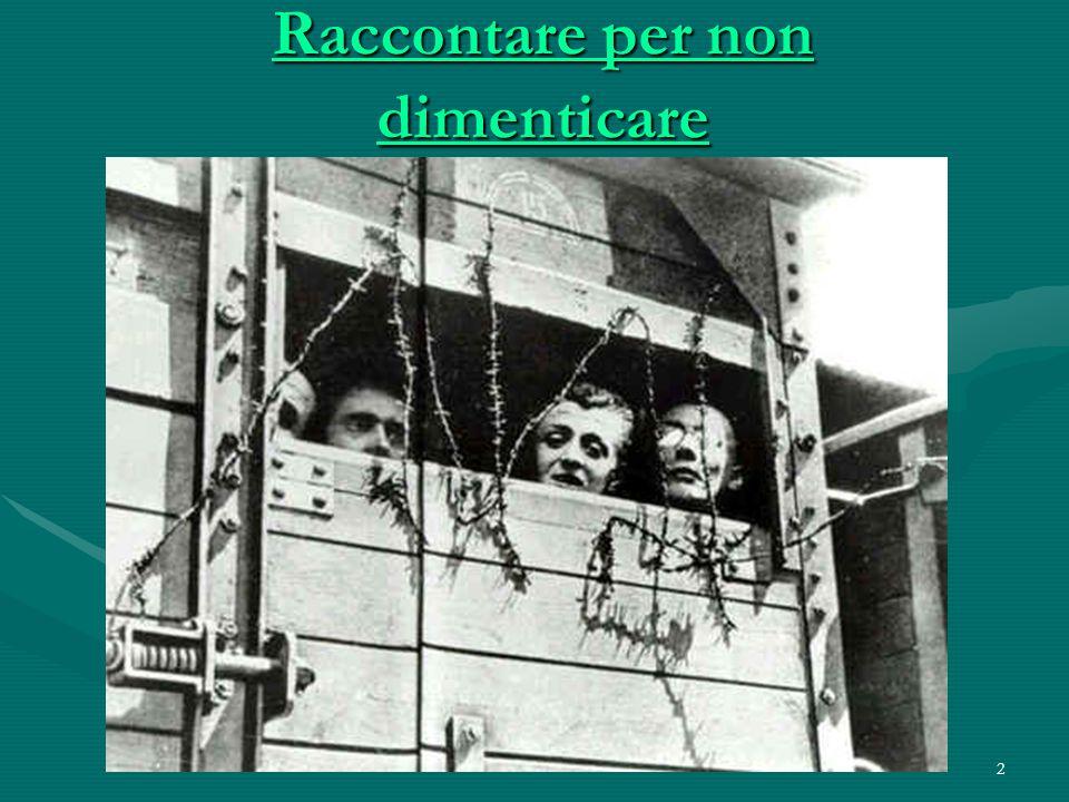 22 Sterminio Perirono nel campo di concentramento preti e uomini di diverse confessioni, di differenti classi sociali e professioni...