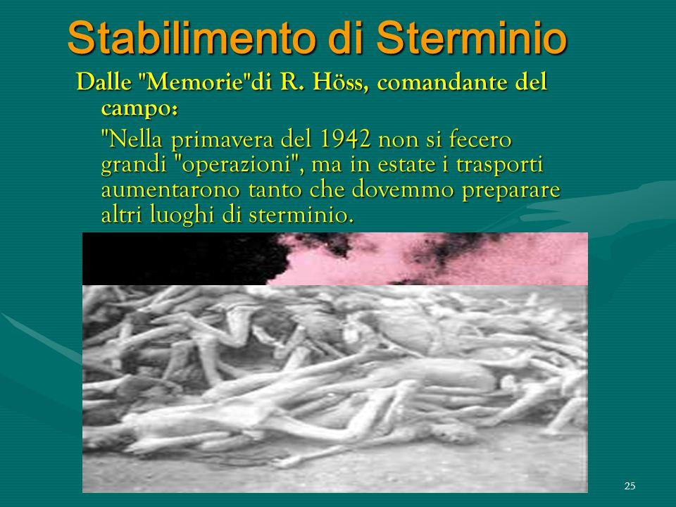 """24 Processo di Sterminio Continua Kremer …""""dopo la selezione sulla banchina ferroviaria, si ordinava agli uomini destinati al gas, di andare al bagno."""