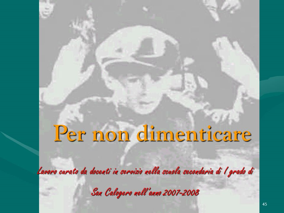 """44 Il padiglione che commemora gli italiani internati nel campo di Auschwitz porta inciso sull'ingresso questo """"memento"""" di Primo Levi «Visitatore, da"""