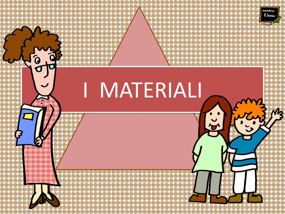 MATERIALI NATURALI Gli oggetti che ci circondano sono fatti di MATERIA I materiali che l'uomo utilizza possono essere di due tipi: MATERIALI ARTIFICIALI