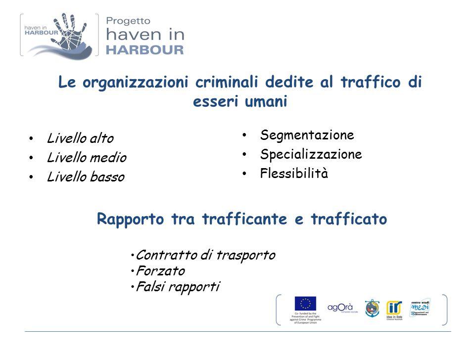 Vittime accertate nel 2010 Il numero totale delle vittime accertate è stato di 9528 di cui 2381 in Italia La distribuzione media in UE per sesso ed età delle vittime è stata: 68% donne, 17% uomini, 12% ragazze e 3% ragazzi La maggior parte delle vittime identificate è stata venduta a fini di sfruttamento sessuale (62%), seguono le vittime della tratta a fini di lavoro forzato (25%) e, con percentuali nettamente inferiori (14%), le vittime di altre forme di sfruttamento, come il prelievo di organi, attività criminali o la vendita di minori.