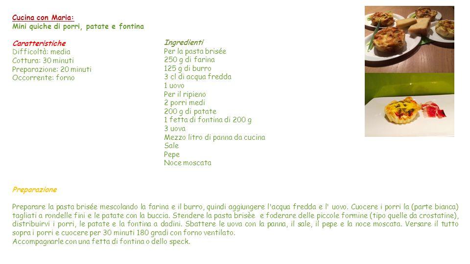 La Scienza in cucina… e non solo Caratteristiche nutrizionali della Fontina: La fontina è costituita per il 42% da acqua Il valore di colesterolo nell