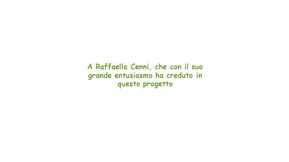 Credits Si ringraziano tutti coloro che hanno contribuito alla stesura dei diversi paragrafi di questo lavoro: Marzia Saraceno, Alessandra Campione, Roberta Ghidini, Tiziana Lolli, Serena Pelegallo.