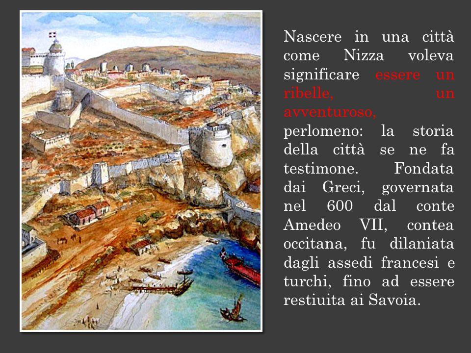 I francesi eran tornati nemici con la rivoluzione: Nizza fu annessa alla Francia dal 1792 al 1814, sicché Garibaldi nacque francese.