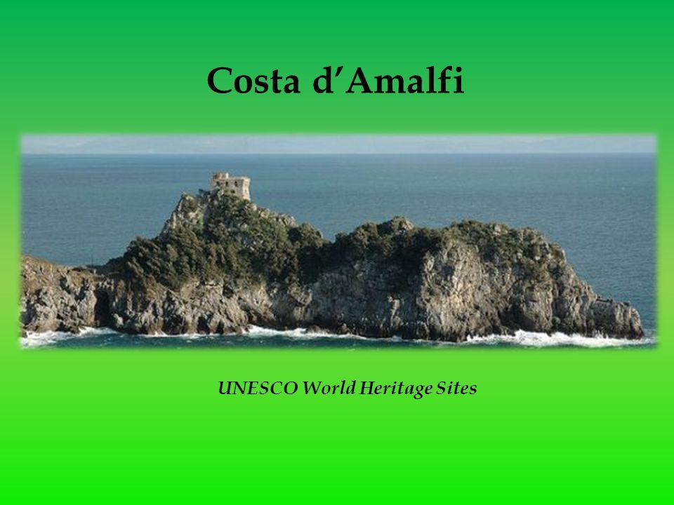 Costa d'Amalfi UNESCO World Heritage Sites