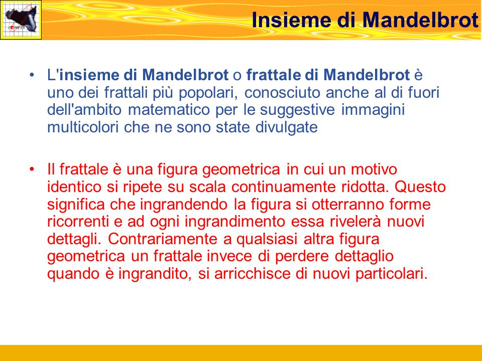 Insieme di Mandelbrot