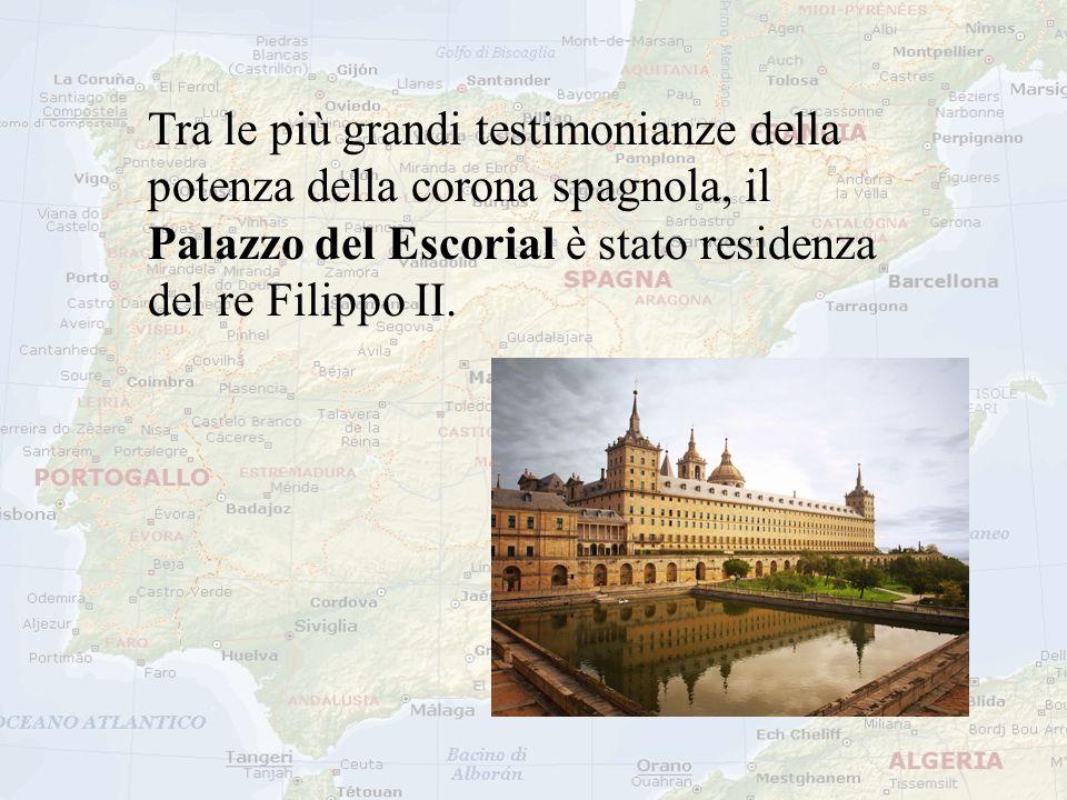 Tra le più grandi testimonianze della potenza della corona spagnola, il Palazzo del Escorial è stato residenza del re Filippo II.