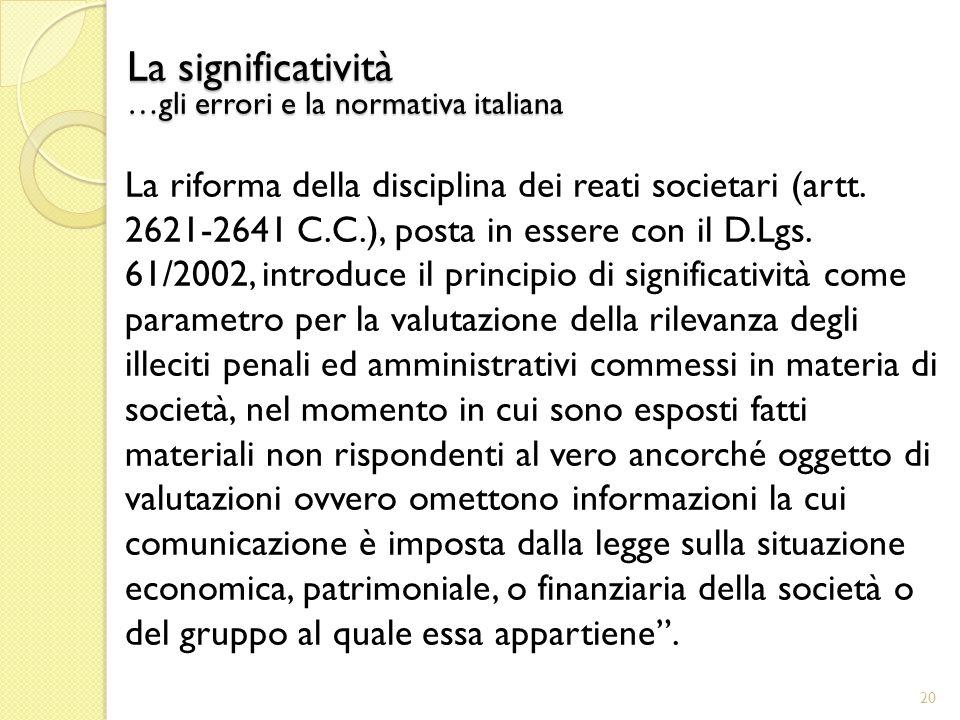 La riforma della disciplina dei reati societari (artt.