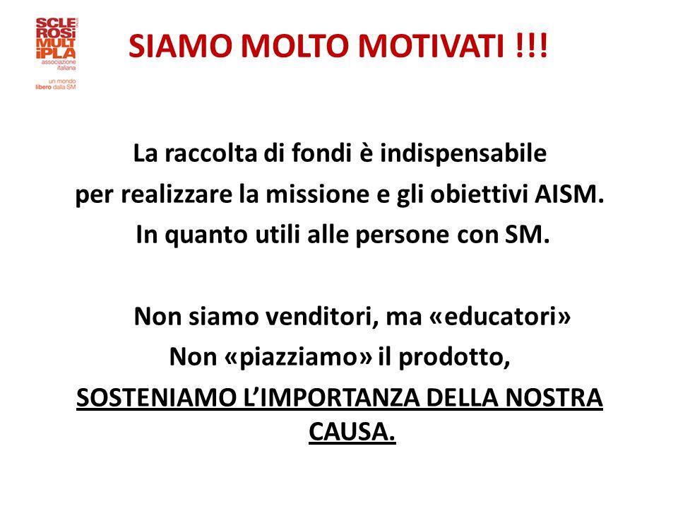 SIAMO MOLTO MOTIVATI !!.