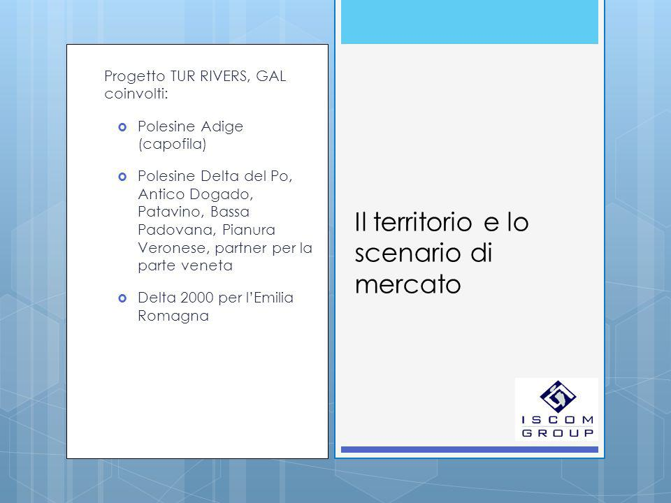 Mercati potenziali  I turisti intervistati, nel loro complesso, hanno alcune caratteristiche specifiche: si tratta sia di Italiani che di stranieri, in età tra i 25 e i 44 anni e, come si ricava dalle informazioni sul nucleo viaggiante, strutturati in coppie o famiglie con bambini.