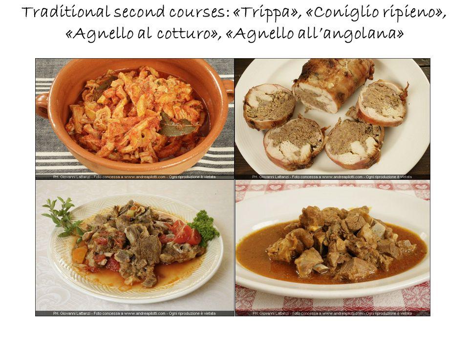 Pecorino cheese and cold cuts of Abruzzo