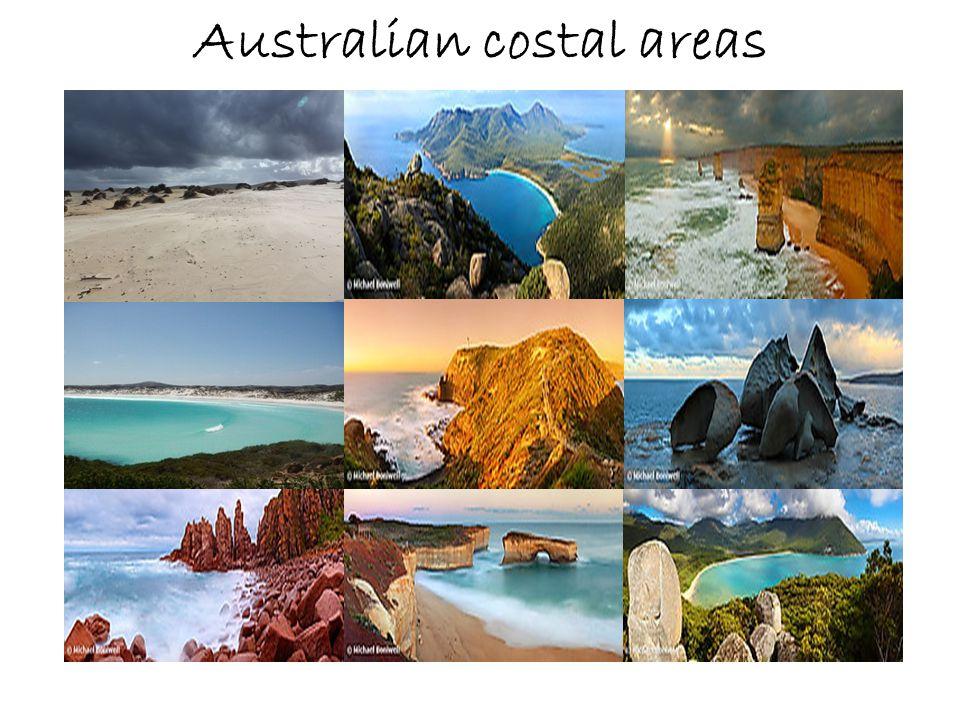 Australian costal areas