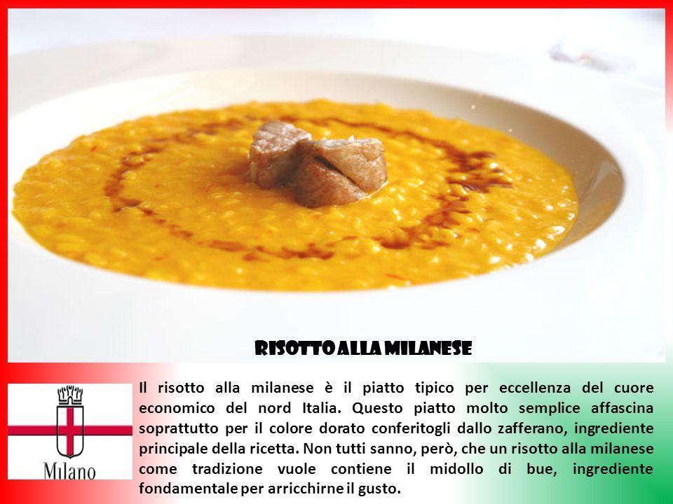 Il risotto alla milanese è il piatto tipico per eccellenza del cuore economico del nord Italia. Questo piatto molto semplice affascina soprattutto per