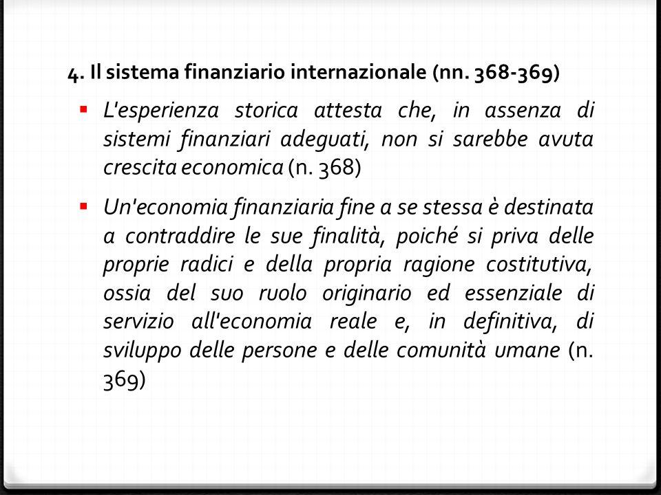 4. Il sistema finanziario internazionale (nn.
