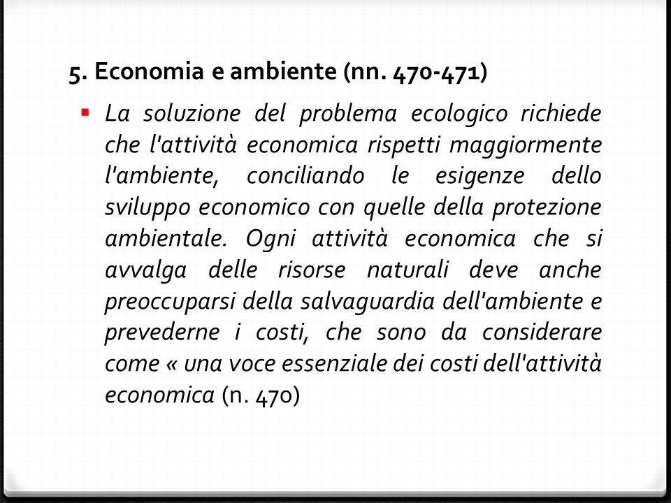 5. Economia e ambiente (nn.