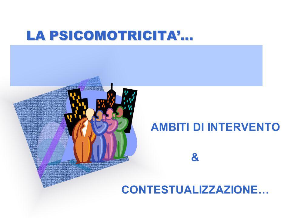 RIFLESSIONE…… 1)Perché la psicomotricità rappresenta un sostrato metodologico, inteso come collante relazionale nell'ambito della didattica?Perché la