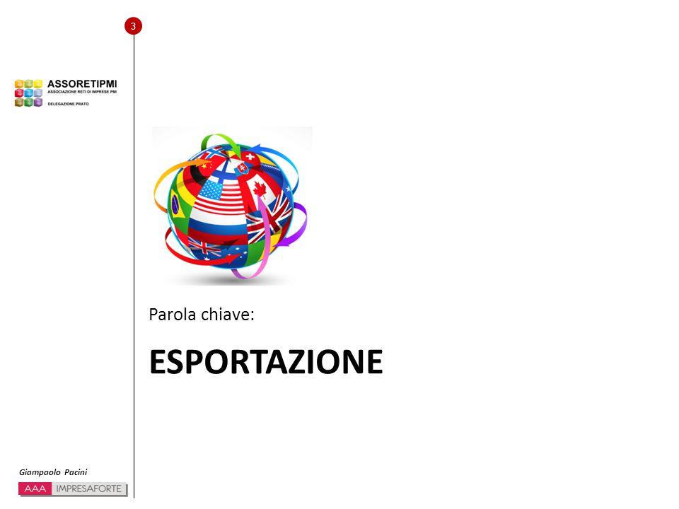 14 Giampaolo Pacini Coerenza con la PMI.