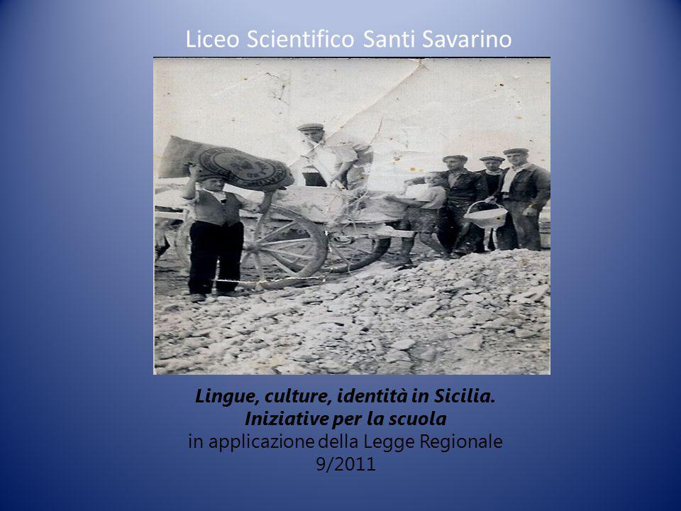 Lingue, culture, identità in Sicilia.