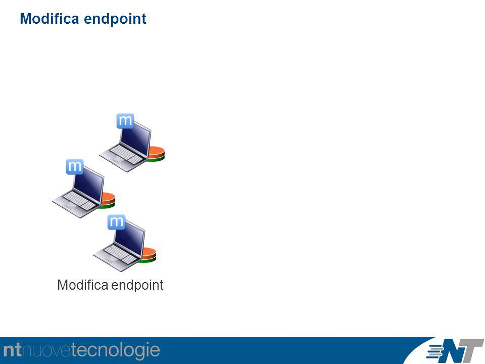 Modifica endpoint