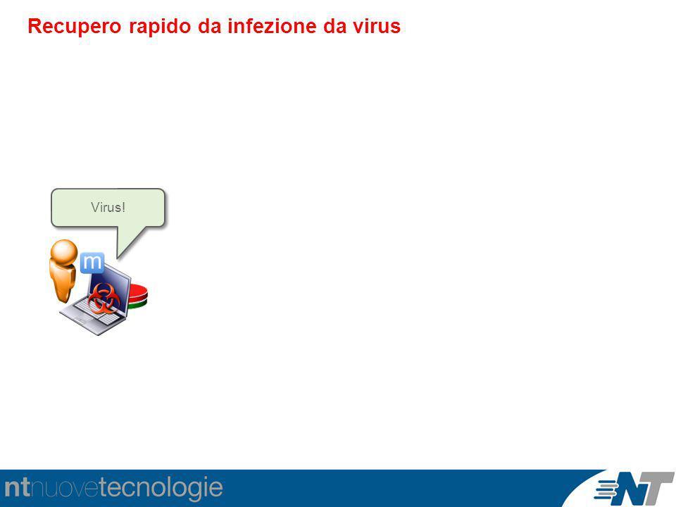 Recupero rapido da infezione da virus Virus!