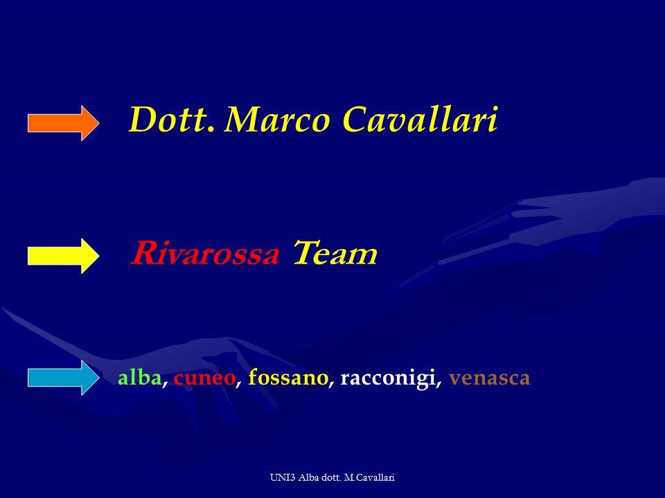 UNI3 Alba dott.M.Cavallari Dott.
