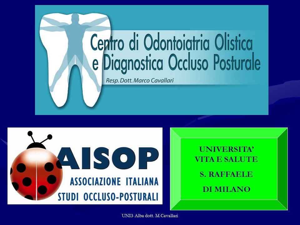 UNI3 Alba dott. M.Cavallari SCN PROGRAMMAZIONE NEUROLOGICA ENGRAMMA PATTERN NOXAE