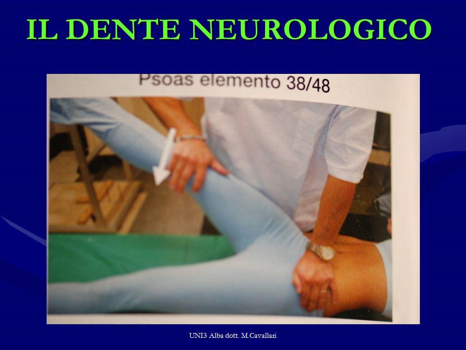 IL DENTE NEUROLOGICO