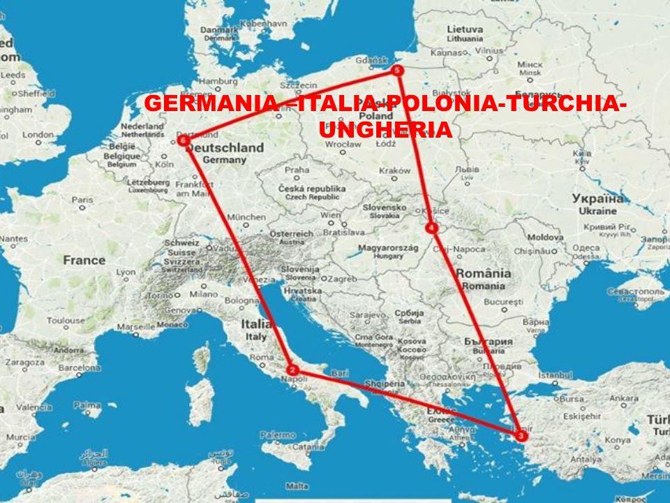 GERMANIA –ITALIA-POLONIA-TURCHIA- UNGHERIA