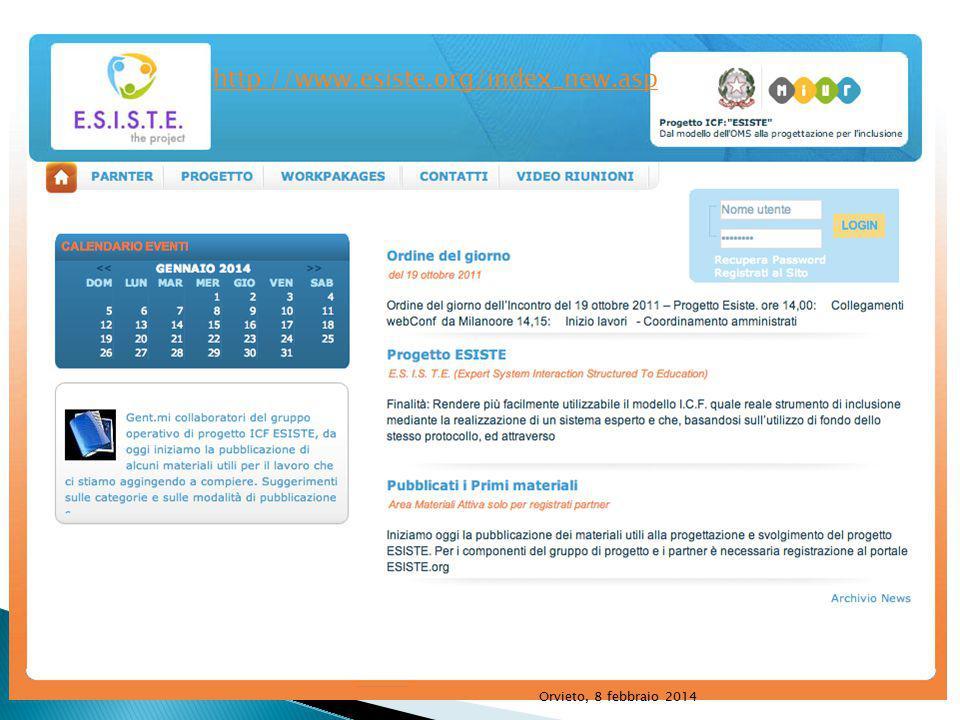 http://www.esiste.org/index_new.asp Orvieto, 8 febbraio 2014