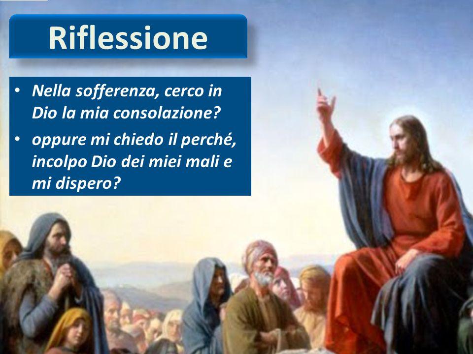 Conclusione Per ciascuno il suo pianto, a ciascuno la consolazione di Dio.