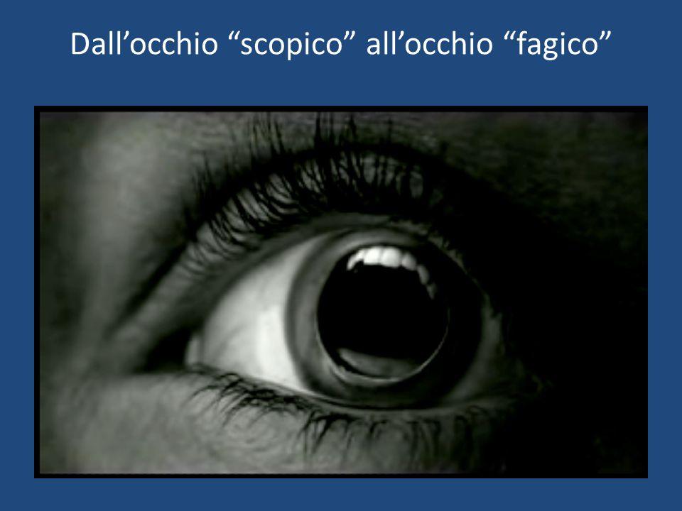 Dall'occhio scopico all'occhio fagico
