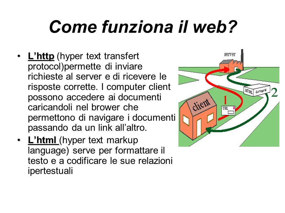 Come funziona il web.