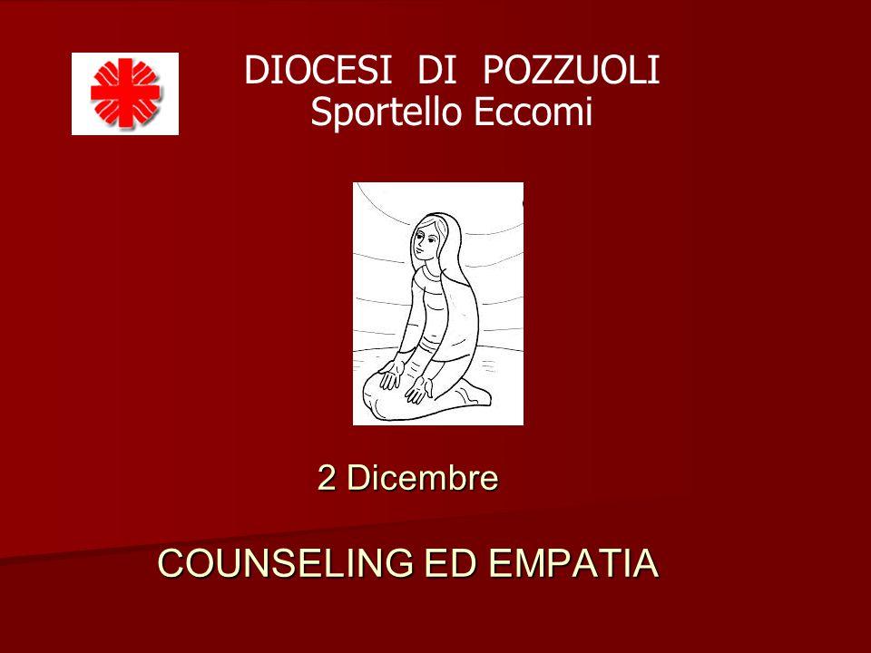2 Dicembre COUNSELING ED EMPATIA DIOCESI DI POZZUOLI Sportello Eccomi