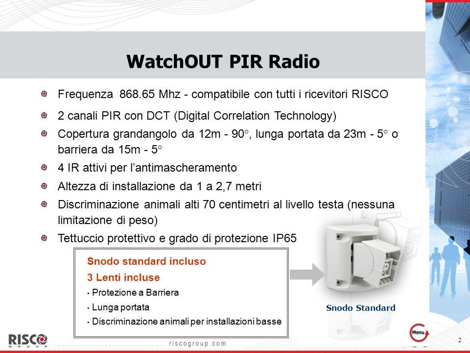 3 WatchOUT PIR Radio