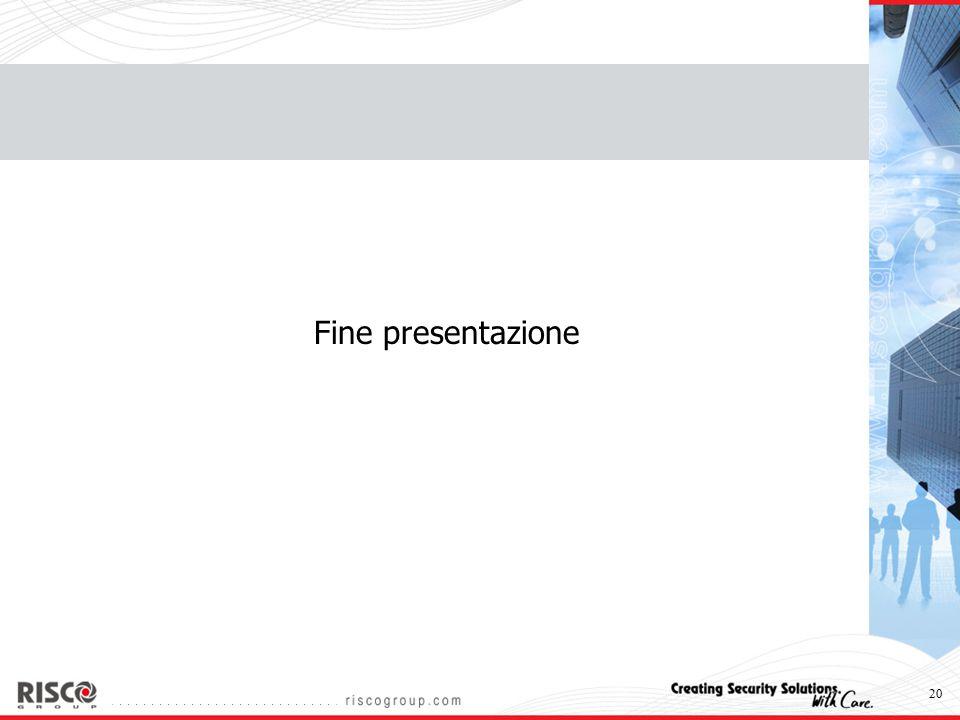 20 Fine presentazione