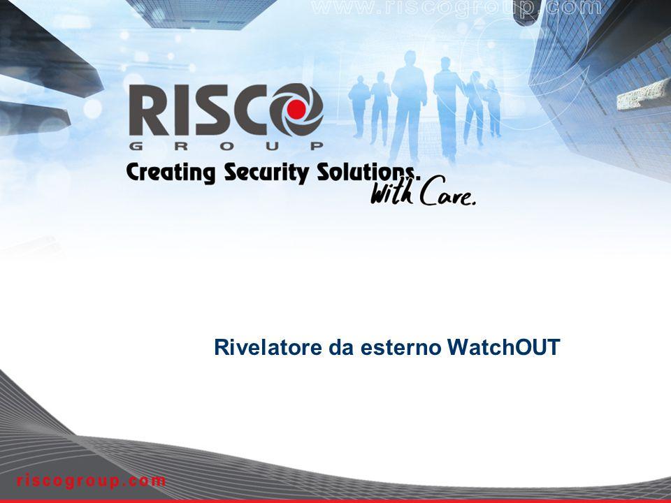 6 Le Tecnologie del WatchOUT SRT - Sway Recognition Technology Ottenuta tramite i 2 canali MW DCT - Digital Correlation Technology Ottenuta tramite i 2 canali PIR